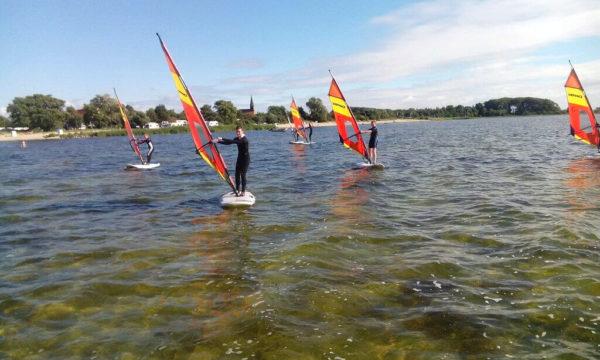 Surfen Grundkurs Wikingsurf