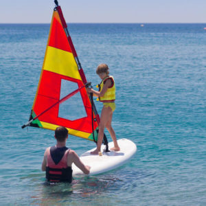 Windsurfen Kinderkurs