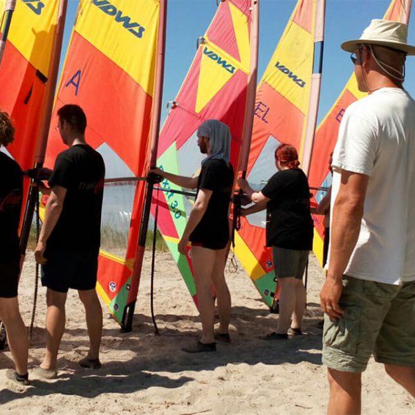 Windsurfen Schnupperkurs Rügen Wikingsurf