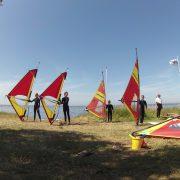 Windsurfen Windsurfkurs Ostsee, Rügen Wikingsurf