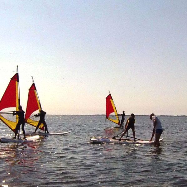 Windsurfen Kinder Ostsee, Rügen, Wikingsurf