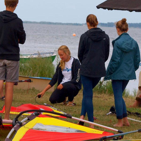 Windsurfen Schnupperkurs, Surfkurs rügen, Surfschule