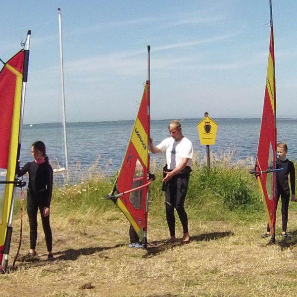 Windsurfen Schnupperkurs, Surfschule Rügen
