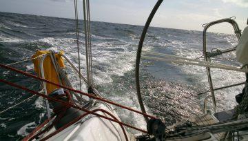 Skipper zur Bootsüberführung